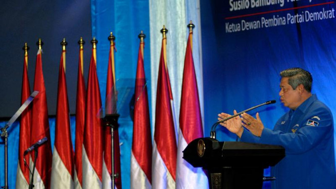 Presiden SBY Buka Kongres Demokrat