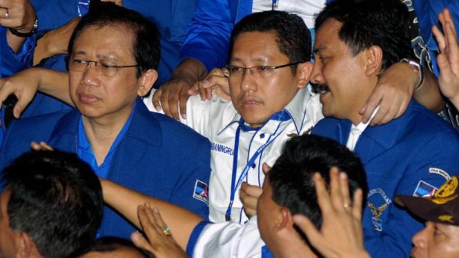 Anas Urbaningrum Jadi Ketua Umum Demokrat