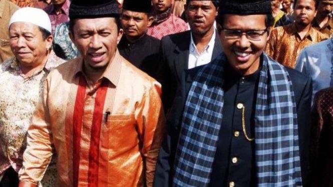 Calon Gubernur Sumatera Barat Irwan Prayitno & Tifatul Sembiring
