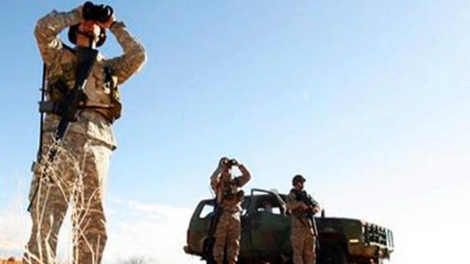 Pasukan Garda Nasional AS memantau perbatasan AS-Meksiko