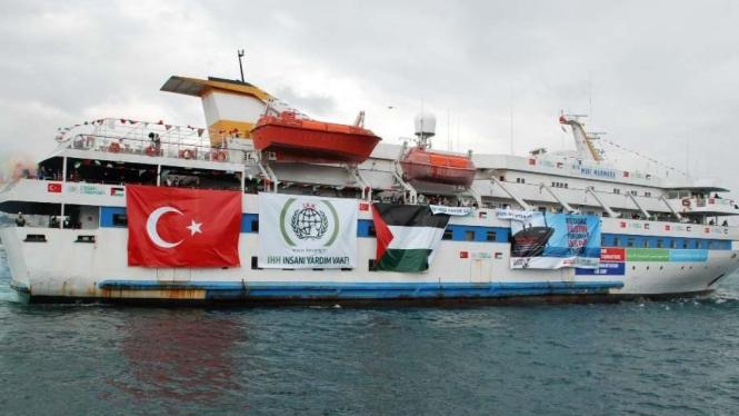 Misi kemanusiaan Palestina di Kapal Mavi Marmara
