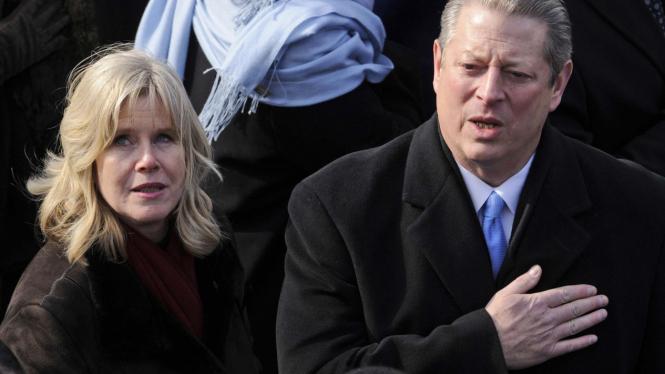 Al Gore dan istrinya, Tipper