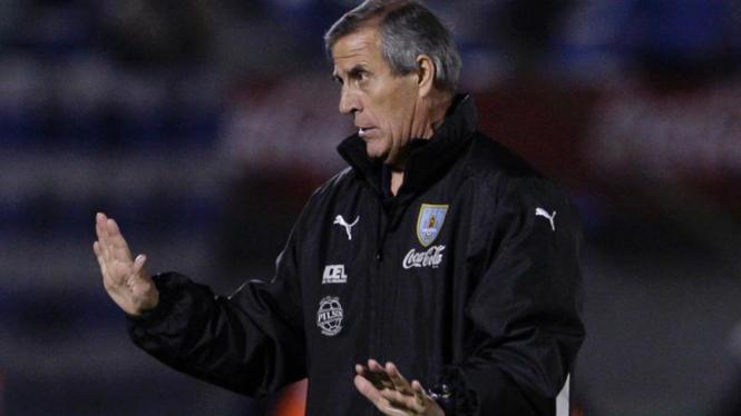 Pelatih Timnas Uruguay, Oscar Tabarez
