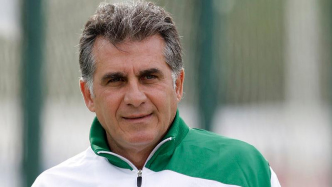 Pelatih Timnas Portugal, Carlos Queiroz