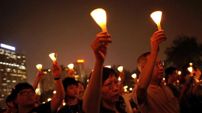 Doa bersama memperingati tragedi Tiananmen