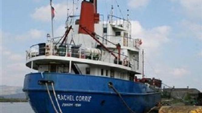 Kapal kargo untuk misi kemanusiaan Gaza, MV Rachel Corrie