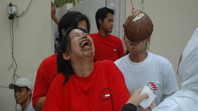 Warga Indonesia di Abu Dhabi ceria merayakan HUT Kemerdekaan