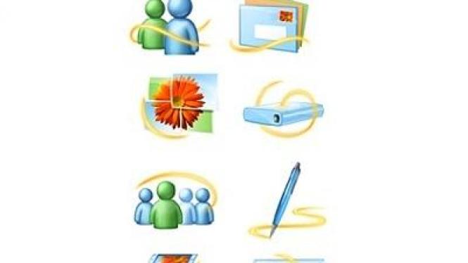 Sejumlah layanan pada Windows Live Essentials