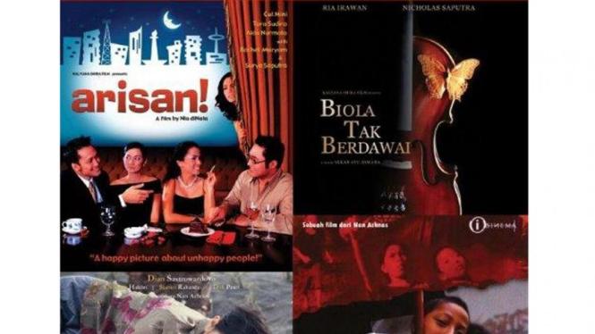 Poster Festival Film Indonesia 2010 di Praha, Ceko