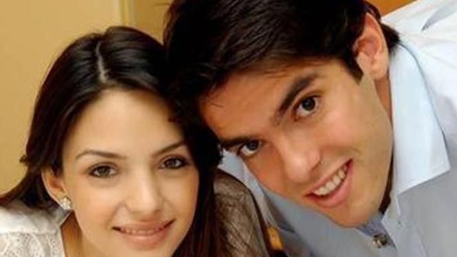 Caroline Celico dan Ricardo Kaka