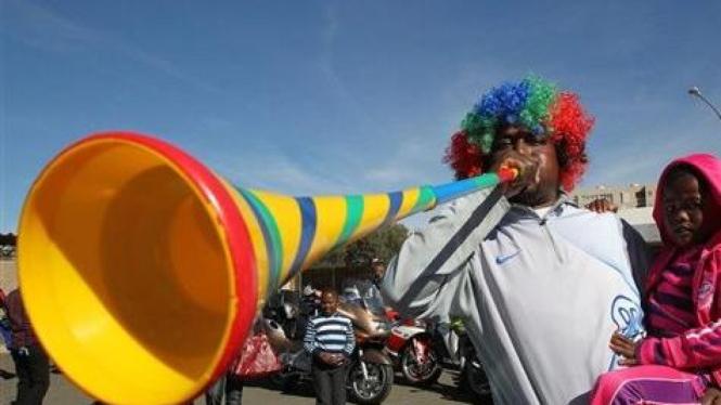 Vuvuzela, terompet Afrika Selatan di Piala Dunia 2010