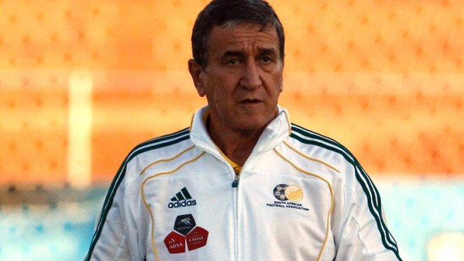 Pelatih Timnas Afrika Selatan, Carlos Alberto Parreira