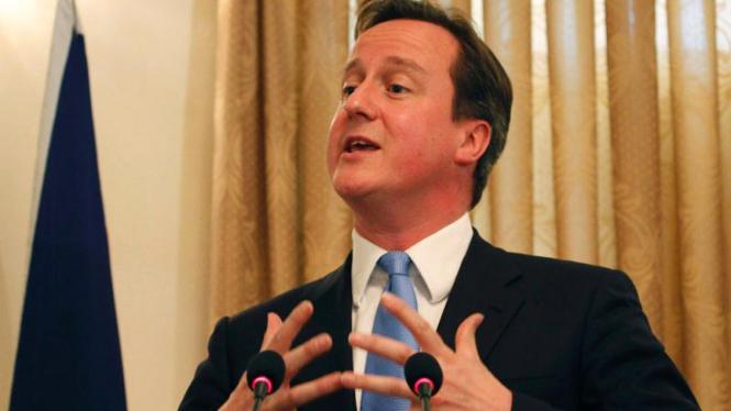Perdana Menteri Inggris, David Cameron.