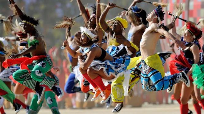 Pembukaan Piala Dunia 2010 Afrika Selatan