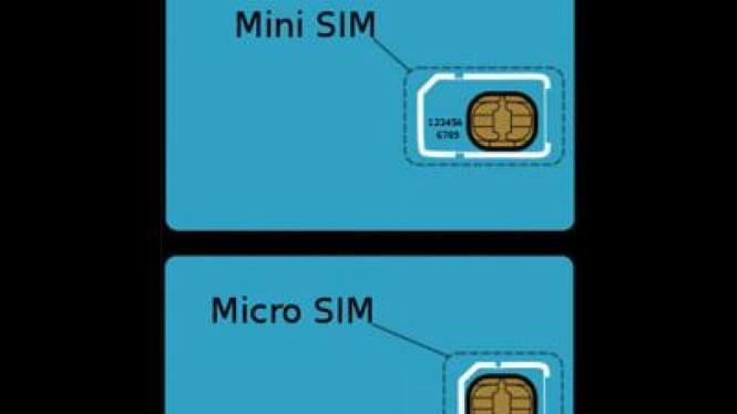 Beda Micro SIM card dan Mini SIM Card