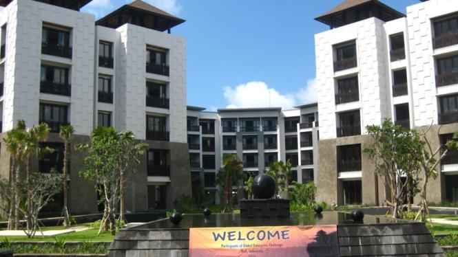 Lokasi penyelenggaraan GEC, Pullman Bali Legian Nirwana