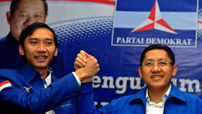 Kepengurusan Partai Demokrat 2010-2015 : Anas Urbaningrum dan Edhie Baskoro