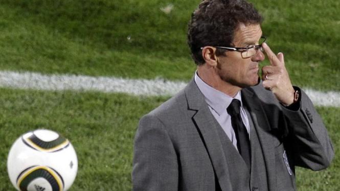 Fabio Capello dan Jabulani