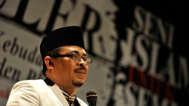 Presiden Partai Keadilan Sejahtera (PKS) Luthfi Hasan Ishaaq