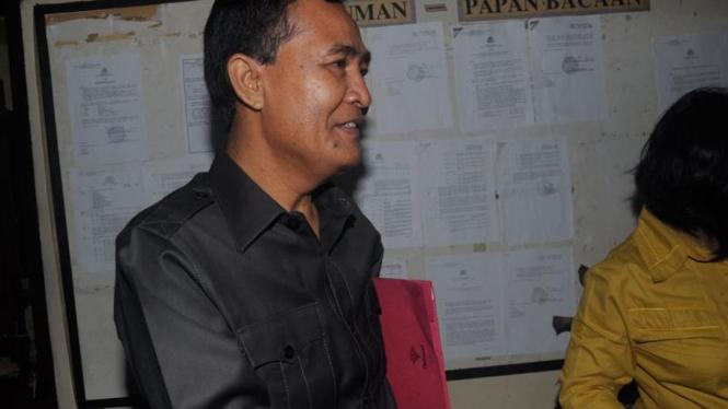 Jaksa Cirus dan Poltak Diperiksa Mabes Polri : Poltak Manulang