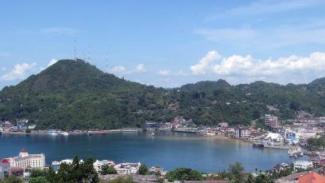 Suasana kota Jayapura, Papua