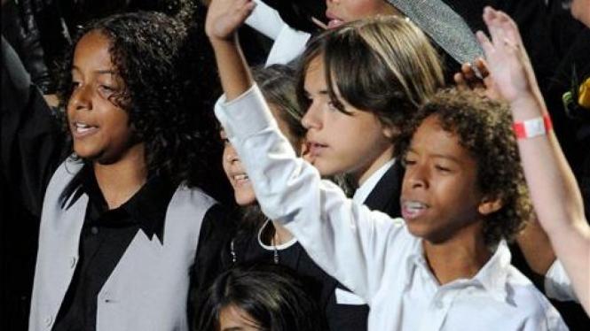 Anak-anak Michael Jackson: Prince, Paris, Prince Michael II