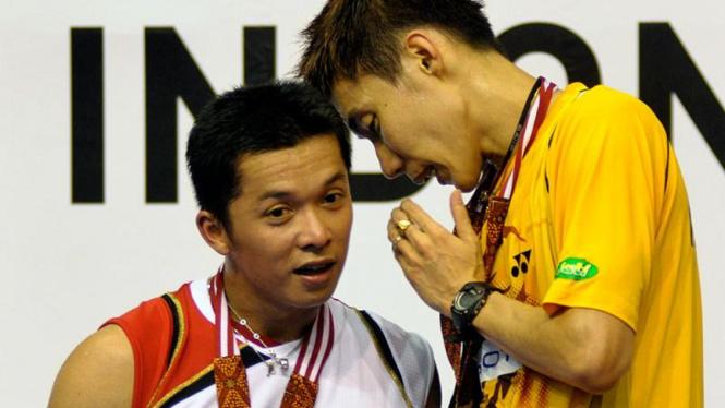 Lee Chong Wei Kembali Juarai Tunggal Putra : Taufik Hidayat