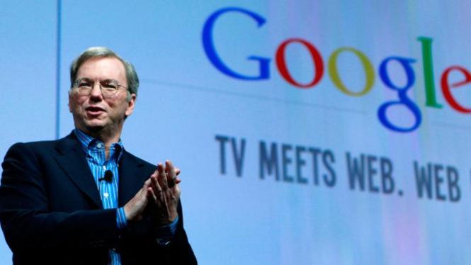 CEO Google, Eric Schmidt