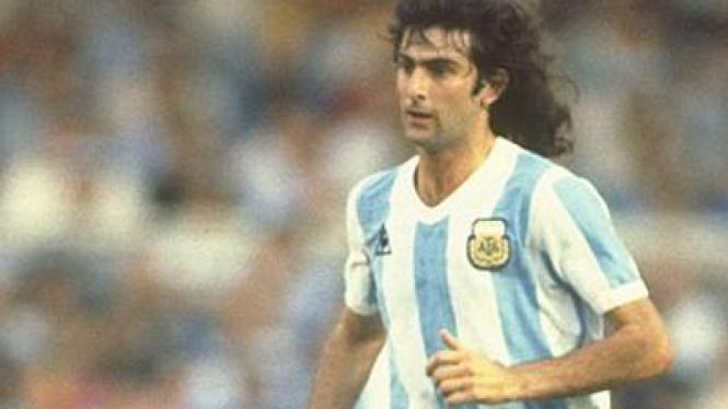 Legenda timnas Argentina, Mario Kempes.