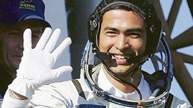 Sheikh Muszaphar Shukor, astronot asal Malaysia