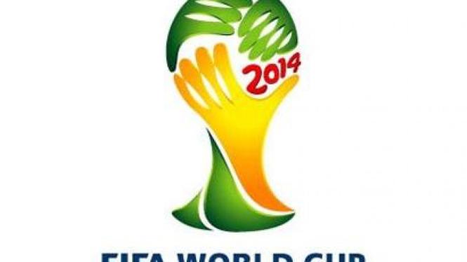 Logo Piala Dunia 2014 (Brasil)