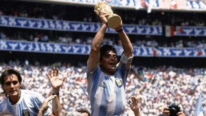Diego Maradona di Piala Dunia 1986