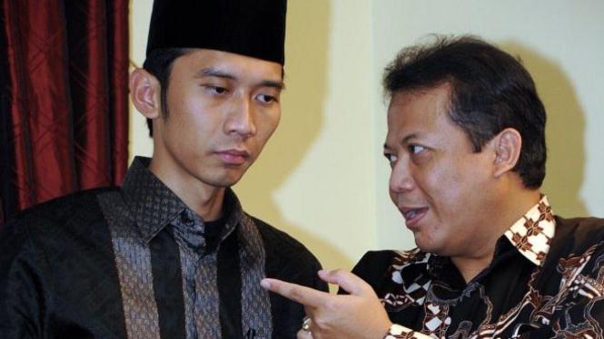 Sekjen Demokrat Edhie Baskoro Yudhoyono & Sekjen PAN Taufik Kurniawan