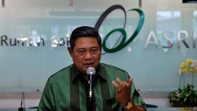 Presiden SBY  Jenguk Aktivis ICW
