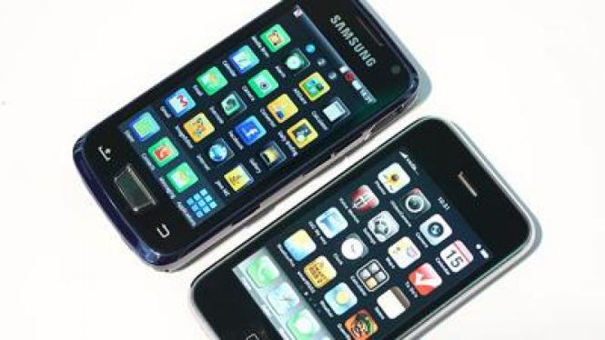 Samsung Galaxy Beam & Apple iPhone 3GS