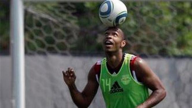 Thierry Henry latihan perdana bersama New York Red Bull