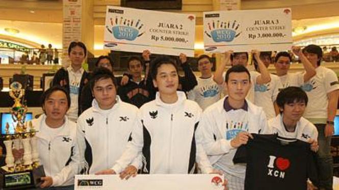 Tim XCN, salah satu wakil Indonesia pada final WCG 2010