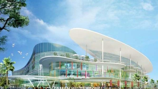 Desain mal Taman Ria Senayan