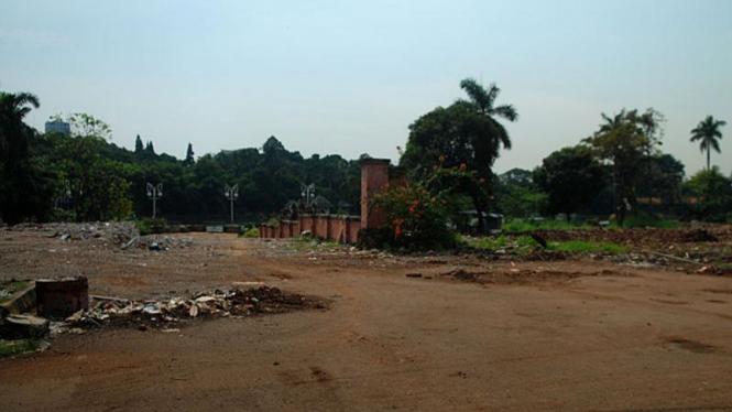 Lokasi Taman Ria Sudah Rata Dengan Tanah