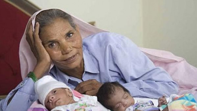 Omraki Panwar dan anak kembarnya