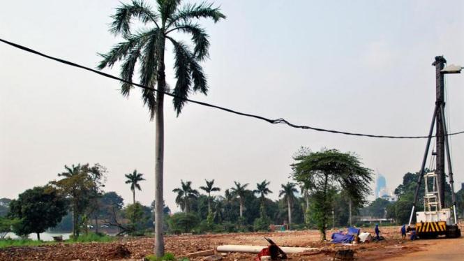 Pembangunan Taman Ria Senayan