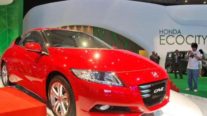IIMS 2010 : Honda CR-Z