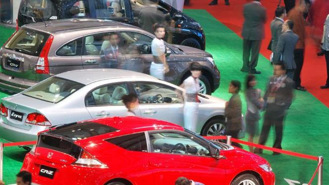 International Indonesia Motor Show (IIMS) 2010 : Honda CR-Z