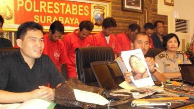 Wakapolrestabes Surabaya, AKBP Bahagia Dachi,  gelar perkara kejahatan