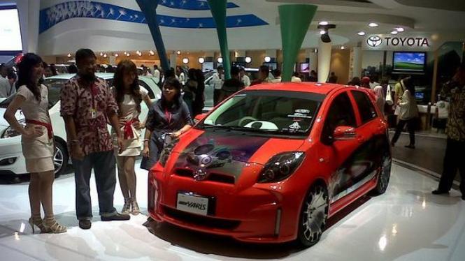 Toyota Yaris modifikasi dipamerkan di IIMS