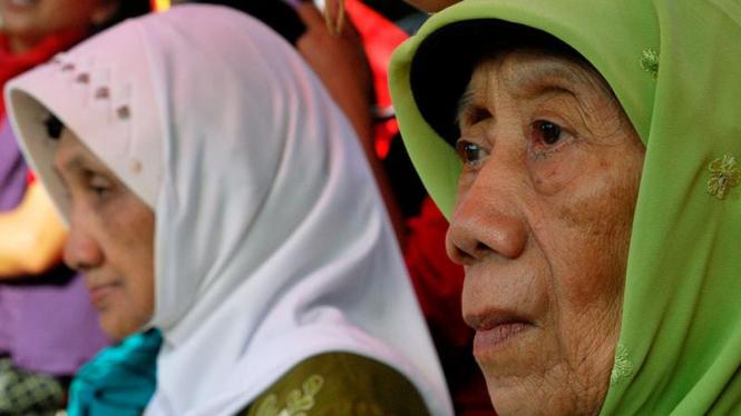 Jelang Vonis, Dua Janda Pahlawan Gelar Aksi Diam