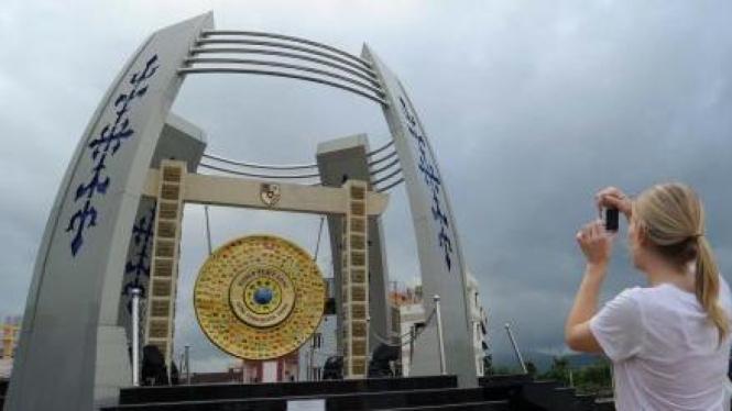 Gong Perdamaian Dunia di Ambon, Maluku