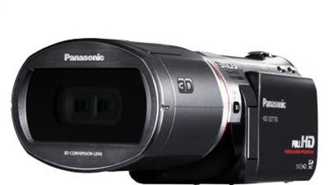 Camcorder 3D Panasonic HDC-SDT750