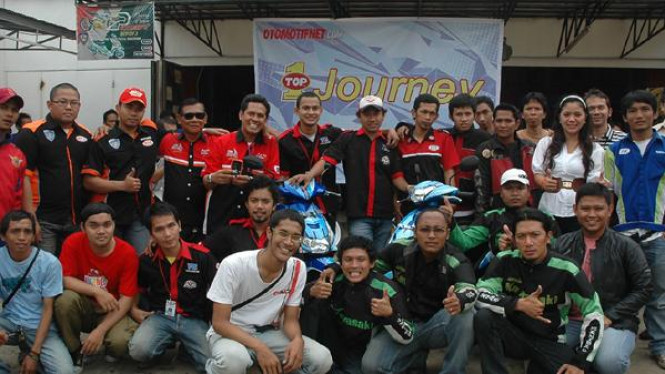 Peserta TOP 1 Journey Riding Experince