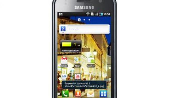 Samsung Galaxy S dengan OS Android 2.2 (Froyo)